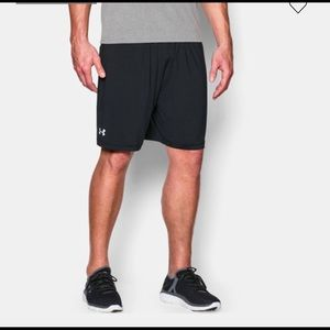 Under Armour Shorts - NWT Under Armour Team Raid Pocket Shorts Black L